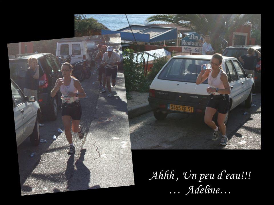 Ahhh, Un peu deau!!! … Adeline…