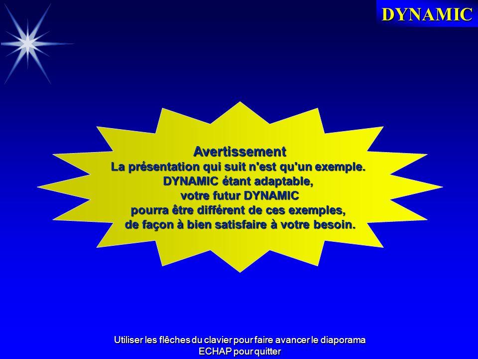 DYNAMIC DOUCET Conseil, 1 bis rue Marcel Paul, 91742 MASSY CEDEX Tél : 01 60 11 28 82 Fax : 01 60 13 94 13 E-mail : info@doucetconseil.fr DYNAMIC .
