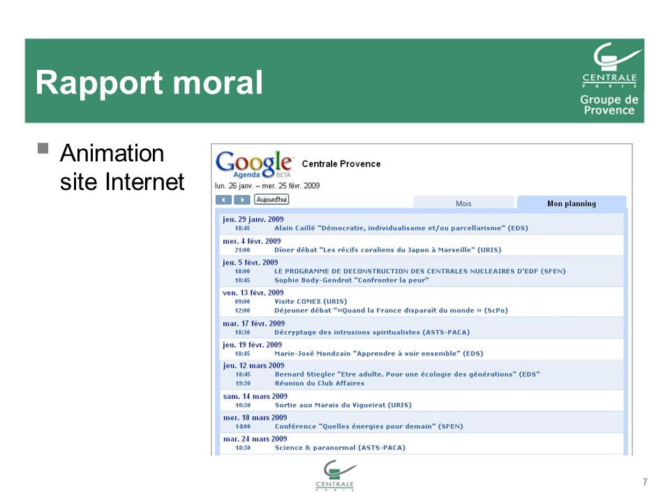 7 Rapport moral Animation site Internet