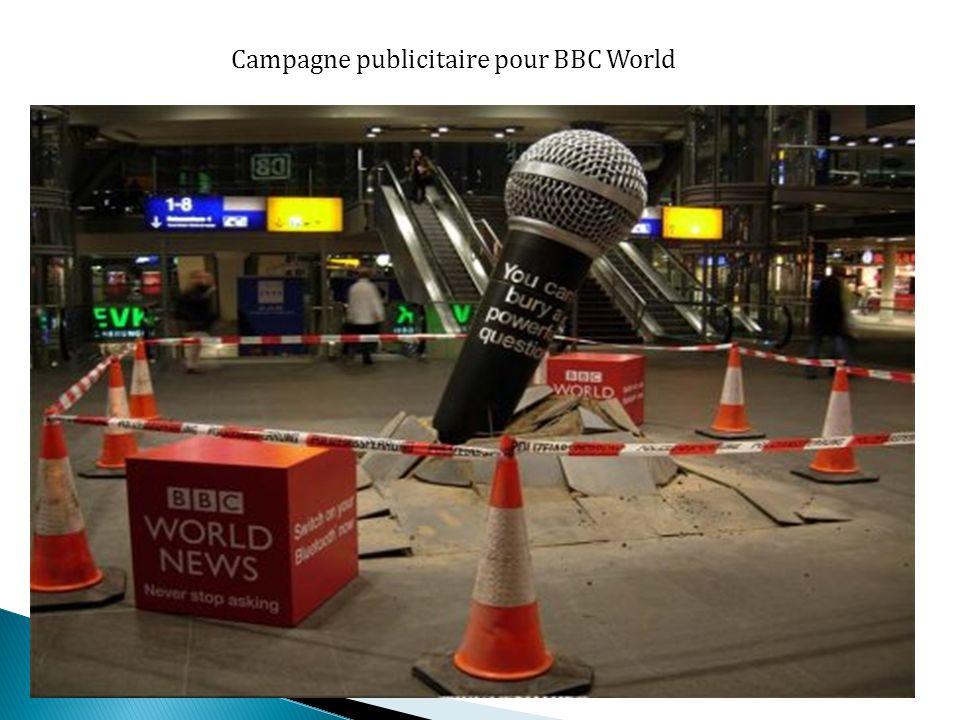 Campagne publicitaire pour BBC World