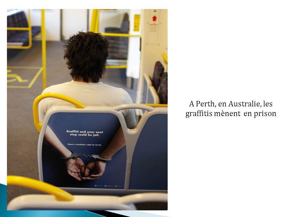 A Perth, en Australie, les graffitis mènent en prison