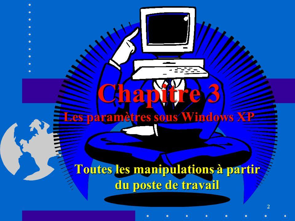 43 L explorateur : les diff é rents menus Onglet « Affichage » (11) : Choisir les d é tails n Changements dans l affichage.