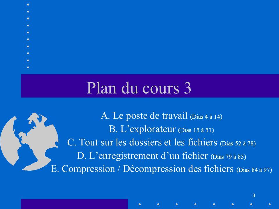 24 L explorateur : les diff é rents menus Onglet « Fichiers » (3) (Exemple avec un fichier Word mis en é vidence) n Ouvrir avec...