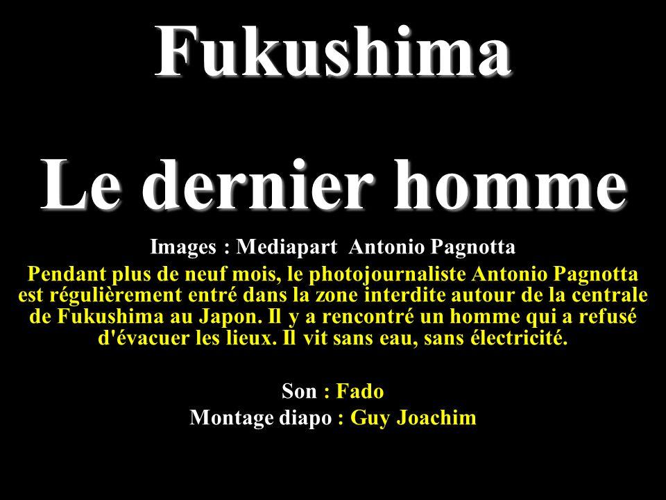 Images : Mediapart Antonio Pagnotta Pendant plus de neuf mois, le photojournaliste Antonio Pagnotta est régulièrement entré dans la zone interdite autour de la centrale de Fukushima au Japon.