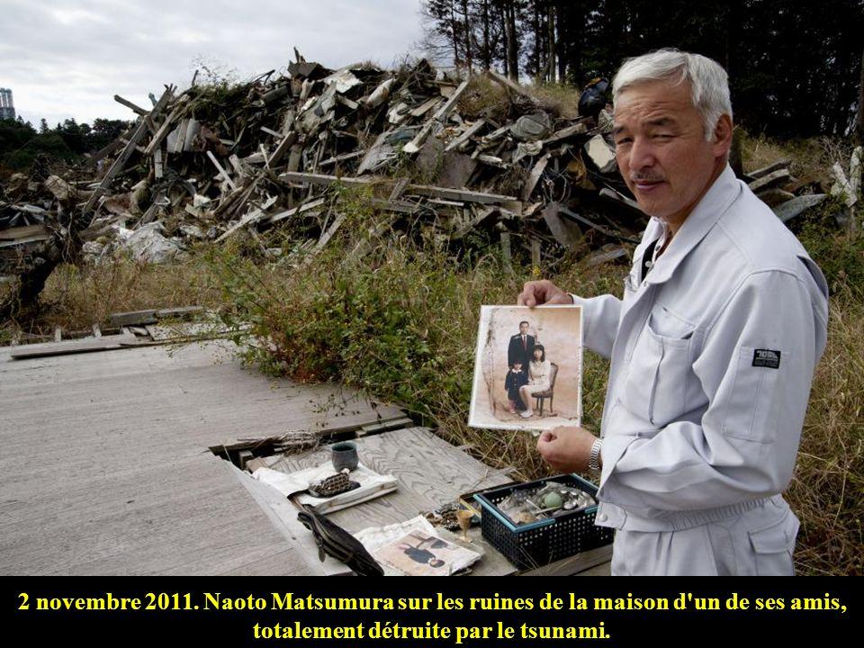 4 juin 2011. Face à l'océan Pacifique, d'où le 11 mars 2011 ont surgi des vagues de plus de 10 mètres de haut. Ce tsunami a été provoqué par un séisme