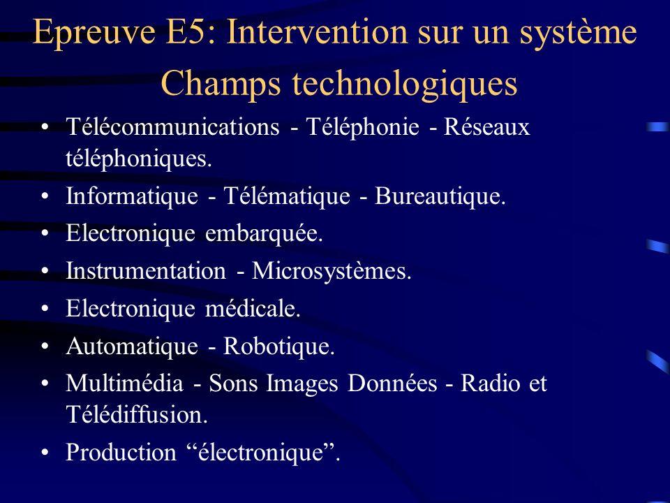 Télécommunications - Téléphonie - Réseaux téléphoniques. Informatique - Télématique - Bureautique. Electronique embarquée. Instrumentation - Microsyst