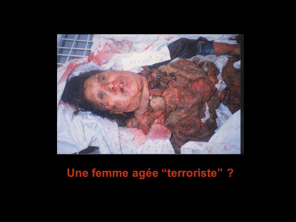 Une femme agée terroriste ?
