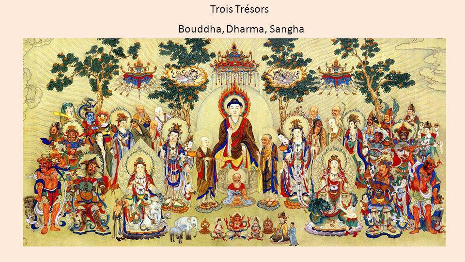 Trois Refuges - Tisarana (pali) - Sanbo-rai Buddha sarana gacchiāmi.