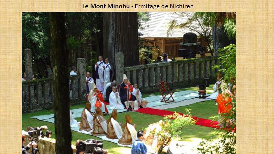 Le Mont Minobu - Ermitage de Nichiren