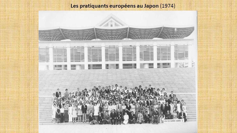 Les pratiquants européens au Japon (1974)