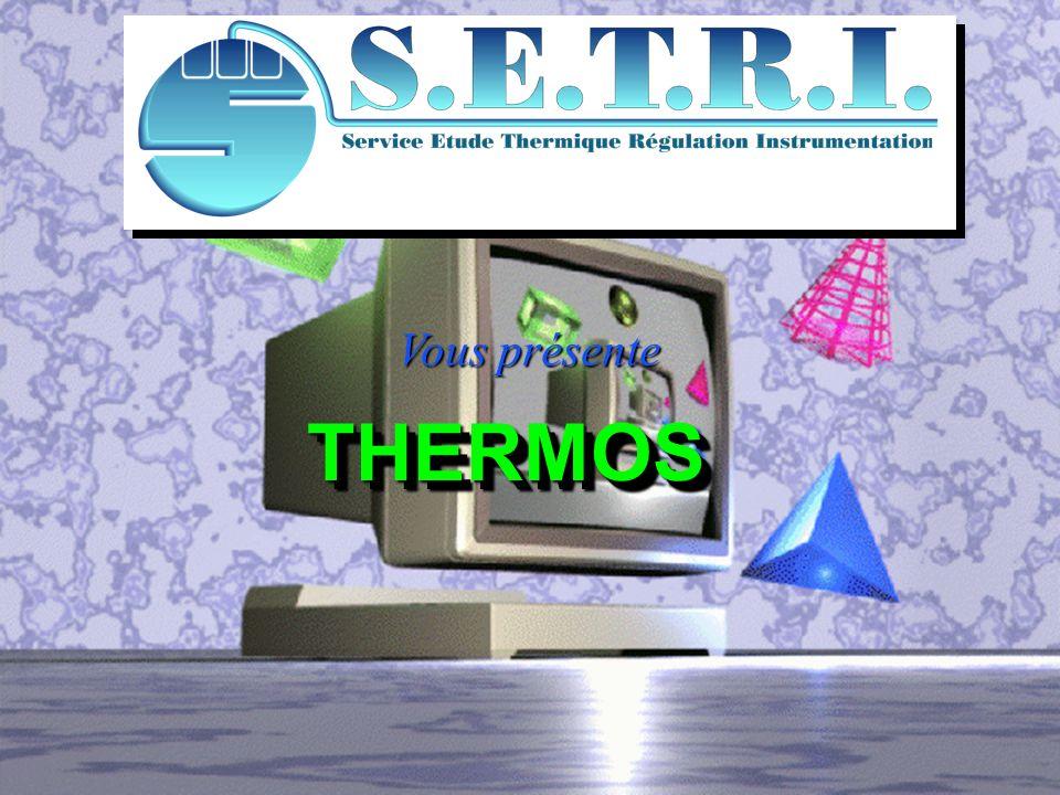 THERMOS est un superviseur de fours de traitements thermiques Il gère la température, le temps de traitement d échantillons se trouvant dans plusieurs fours, avec le suivi temps réel et avec le suivi temps réel et la gestion de procès verbaux.