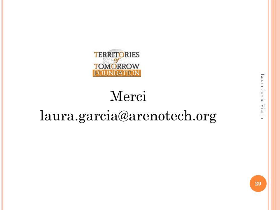 Merci laura.garcia@arenotech.org 29 Laura Garcia Vitoria