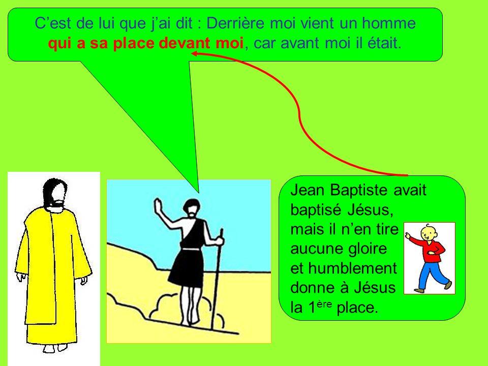 Je ne le connaissais pas; mais, si je suis venu baptiser dans leau, cest pour quil soit manifesté au peuple dIsraël.