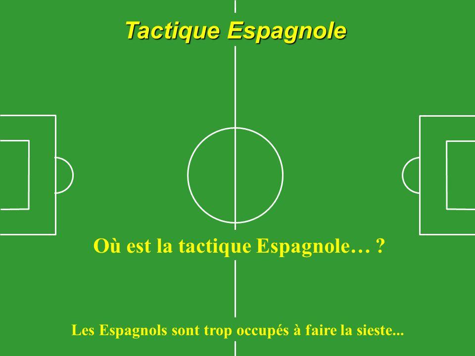 Tactique Belge Ils courent eux-mêmes à leur perte, ils nont besoin de personne.