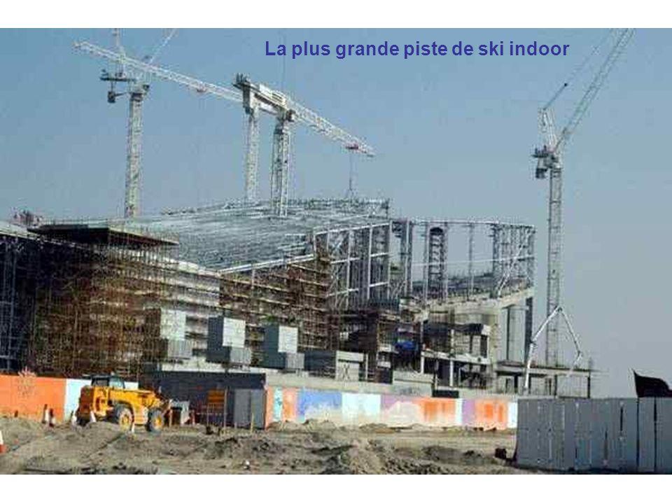 La plus grande piste de ski indoor