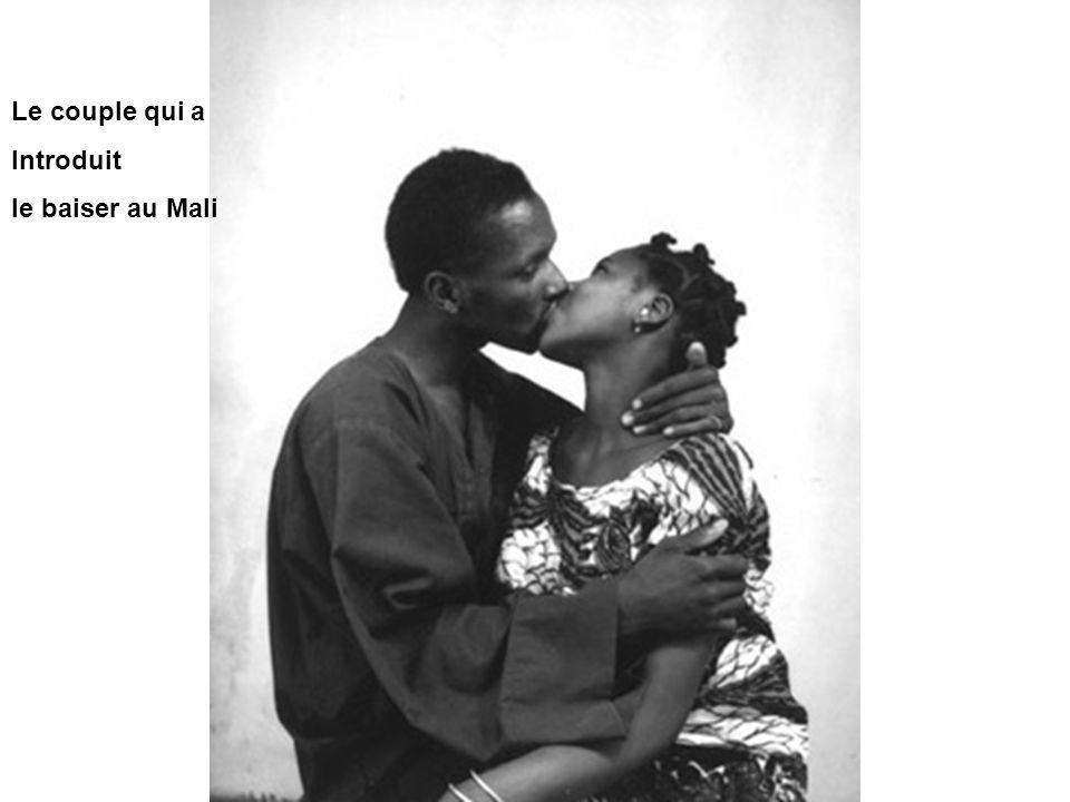 Le couple qui a Introduit le baiser au Mali