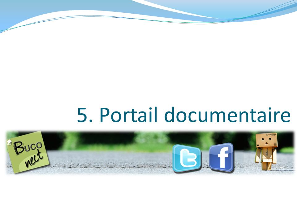 5. Portail documentaire