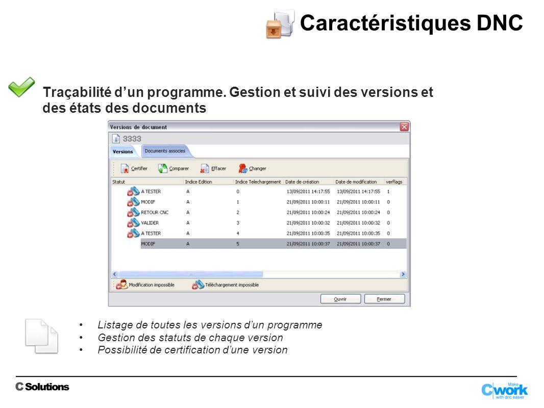 Traçabilité dun programme.