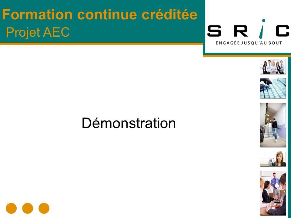 Préférences (Compte-client et Signature du bulletin) Préférences (Compte-client et Signature du bulletin) Créer Formation (Facultatif) (Grille de cheminement) Créer Formation (Facultatif) (Grille de cheminement) Configuration (Année financière, formateur, remarques, domaines de spécialisation Configuration (Année financière, formateur, remarques, domaines de spécialisation Créer Cours (Répertoire) Créer Cours (Répertoire) Créer Projet (Offre de cours -Privé/Public) ajouter des cours au projet Créer Projet (Offre de cours -Privé/Public) ajouter des cours au projet Créer les Groupes cours (frais, nombre de groupes, dates de début et de fin, plages horaires, local, formateur, places disponibles) Créer les Groupes cours (frais, nombre de groupes, dates de début et de fin, plages horaires, local, formateur, places disponibles) Formation continue non créditée Processus :