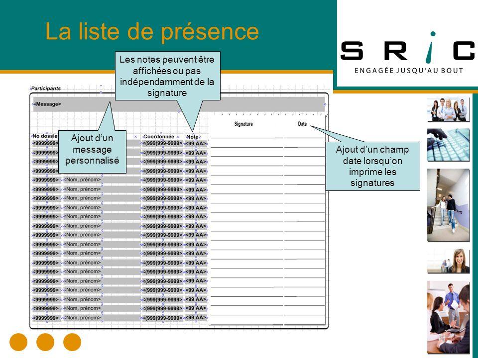 Dossier du participant Il est permis de supprimer un dossier du participant lorsquil ny a pas dinscription.