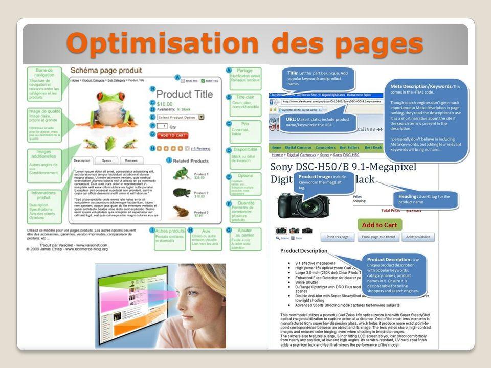 Optimisation des pages