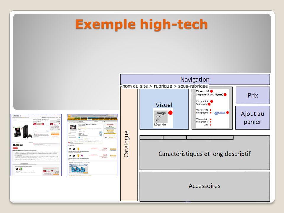 Exemple high-tech
