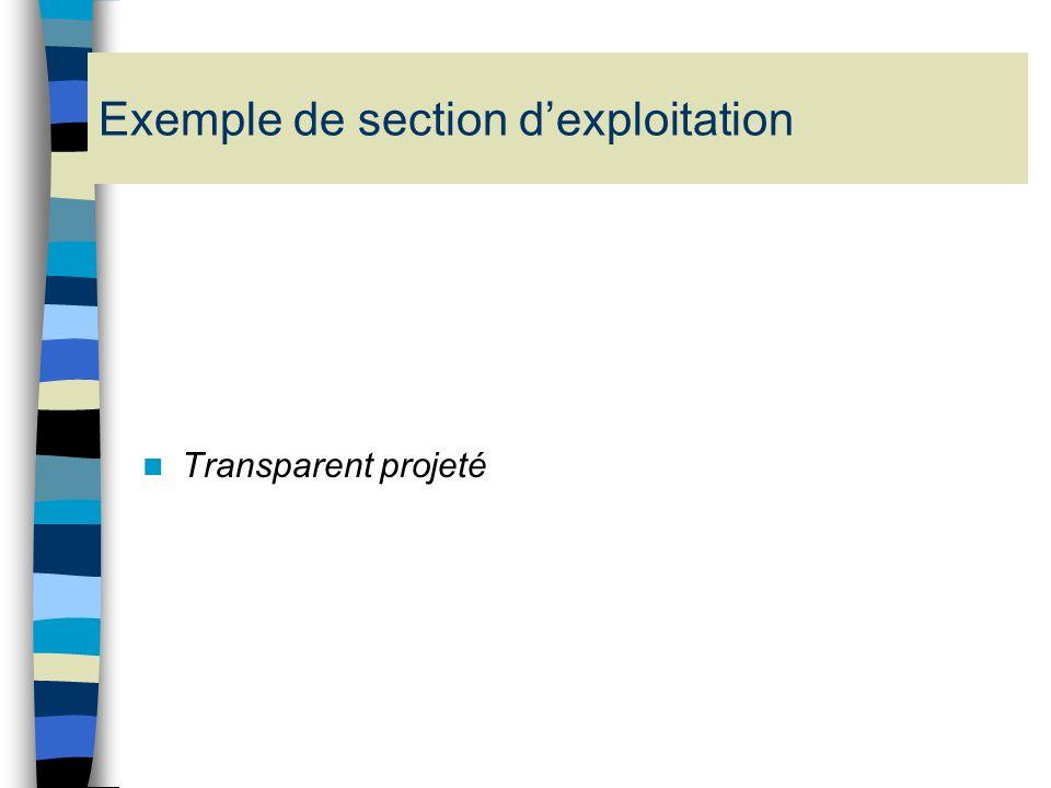 Ils retracent les opérations d exploitation concernant des activités qui présentent un mode de financement ou de fonctionnement particulier a) La dota