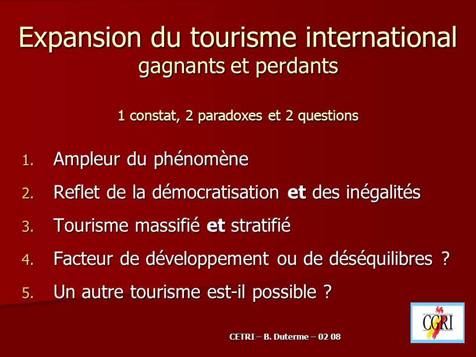 5.2.Un autre tourisme est-il possible .
