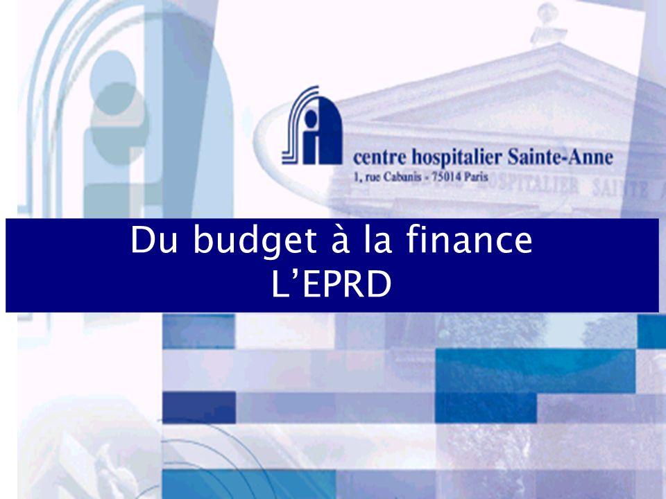 Du budget à la finance LEPRD