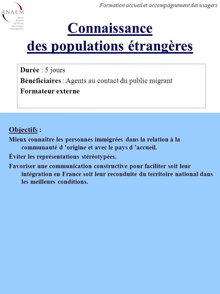 Objectifs : Mieux connaître les personnes immigrées dans la relation à la communauté d origine et avec le pays d accueil.