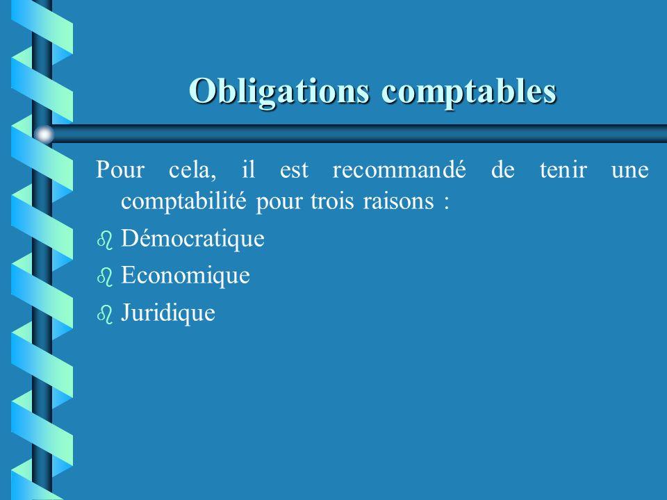 Le plan comptable associatif b b Principes comptables : - prudence - enregistrement des opérations au coût historique - indépendance des exercices