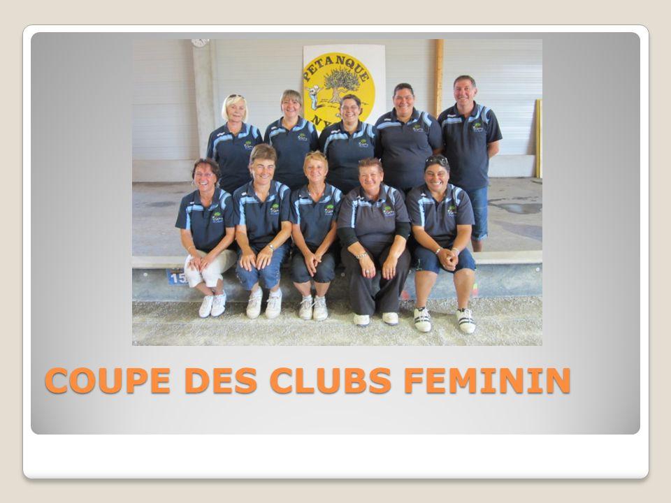 COUPE DES CLUBS FEMININ