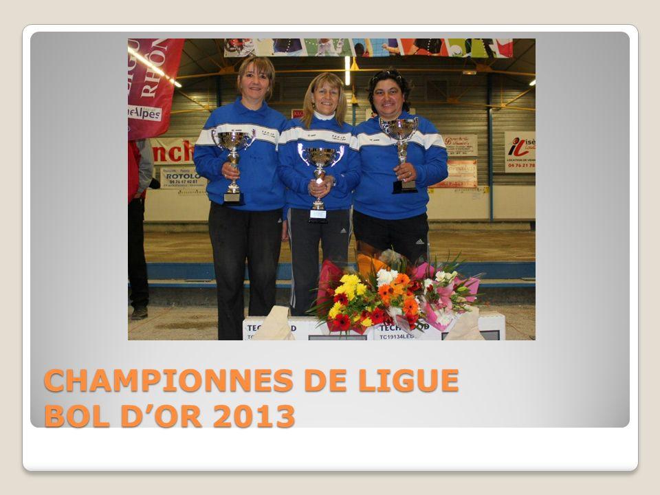 CHAMPIONNES DE LIGUE BOL DOR 2013