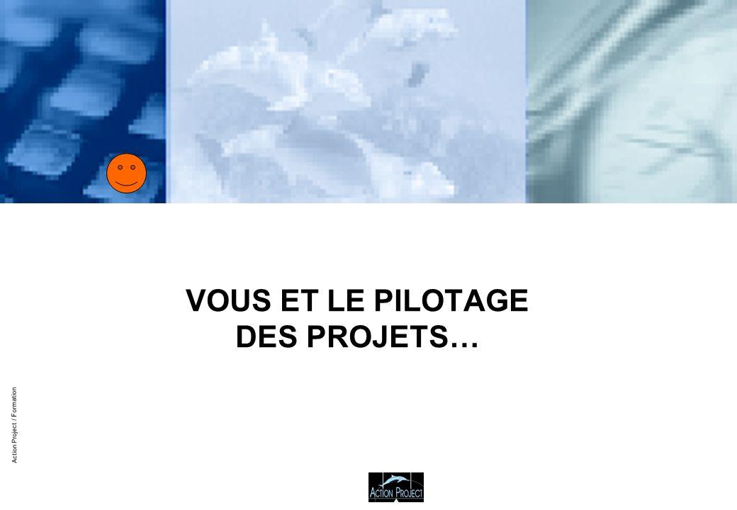 Action Project / Formation VOUS ET LE PILOTAGE DES PROJETS…