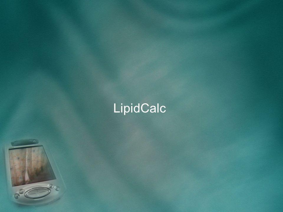 LipidCalc
