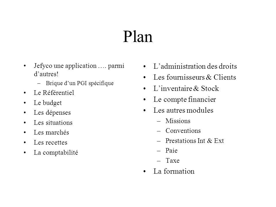 Plan Jefyco une application ….parmi dautres.