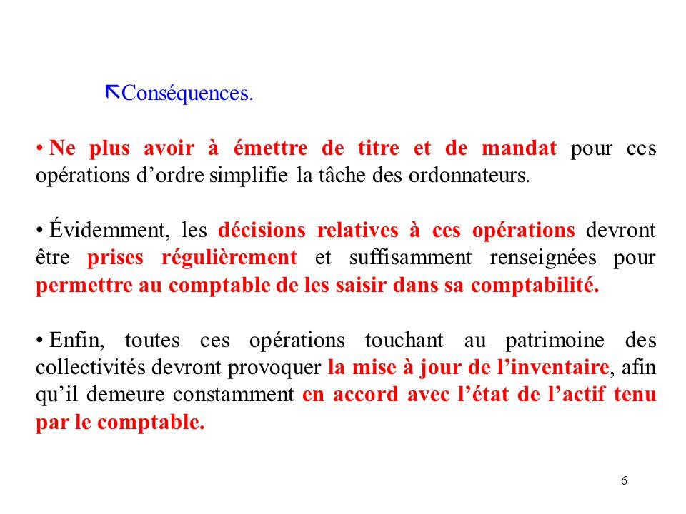67 LE TRAITEMENT DES CESSIONS D IMMOBILISATIONS - CHAPITRE 024.