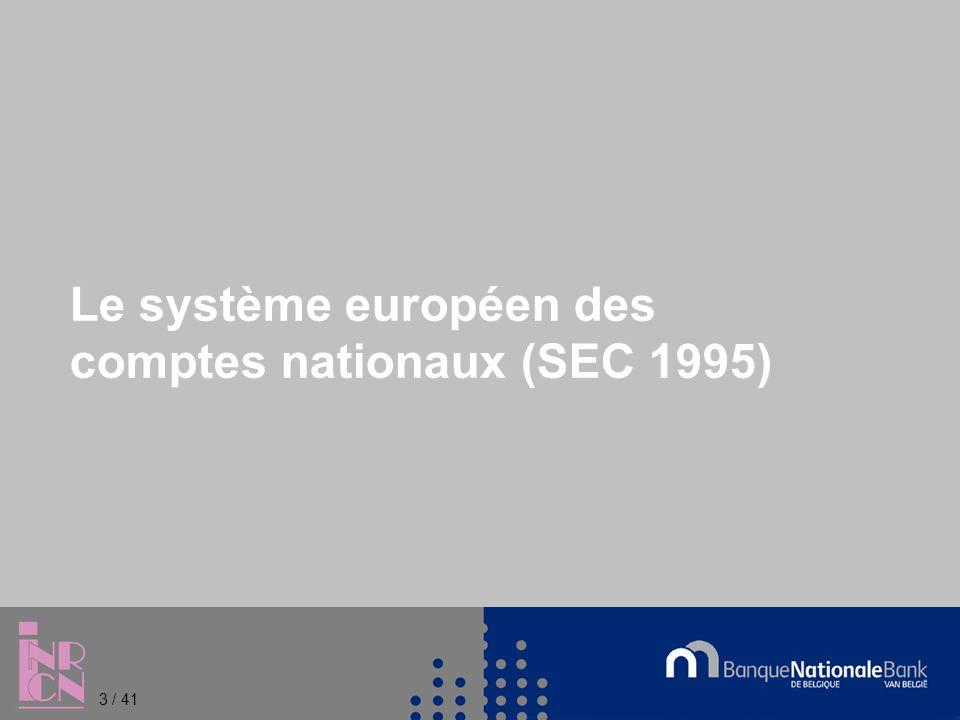 Références légales pour la PDE Règlement 479/2009 relatif à l application du protocole sur la procédure concernant les déficits excessifs annexé au traité instituant la Communauté européenne (codification du Règlement 3605/93 modifié par les Règlements 475/2000, 351/2002 et 2303/2005) Règlement 679/2010 portant modification du Règlement 479/2009 en ce qui concerne la qualité des données statistiques dans le contexte de la procédure concernant les déficits excessifs 4 / 41