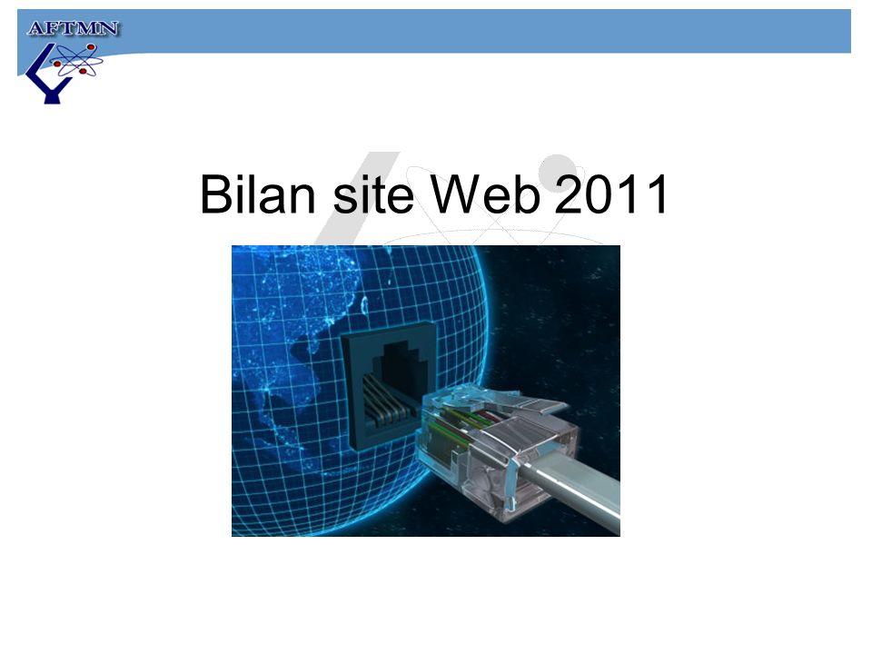Bilan site Web 2011