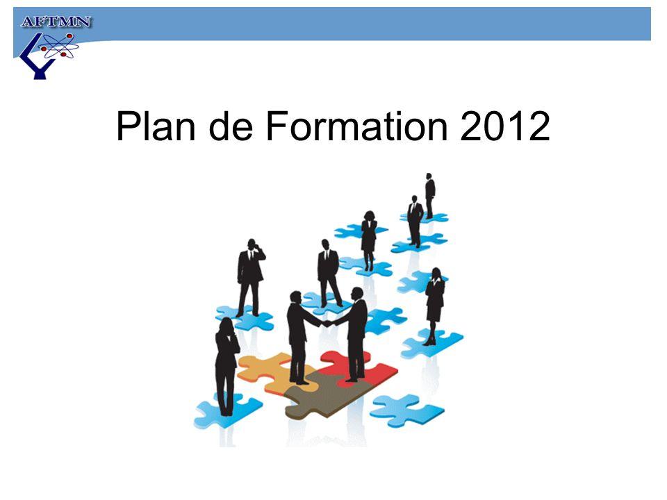 Plan de Formation 2012