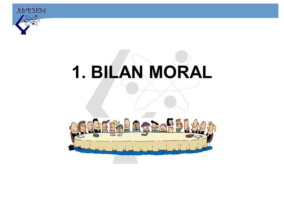 1. BILAN MORAL