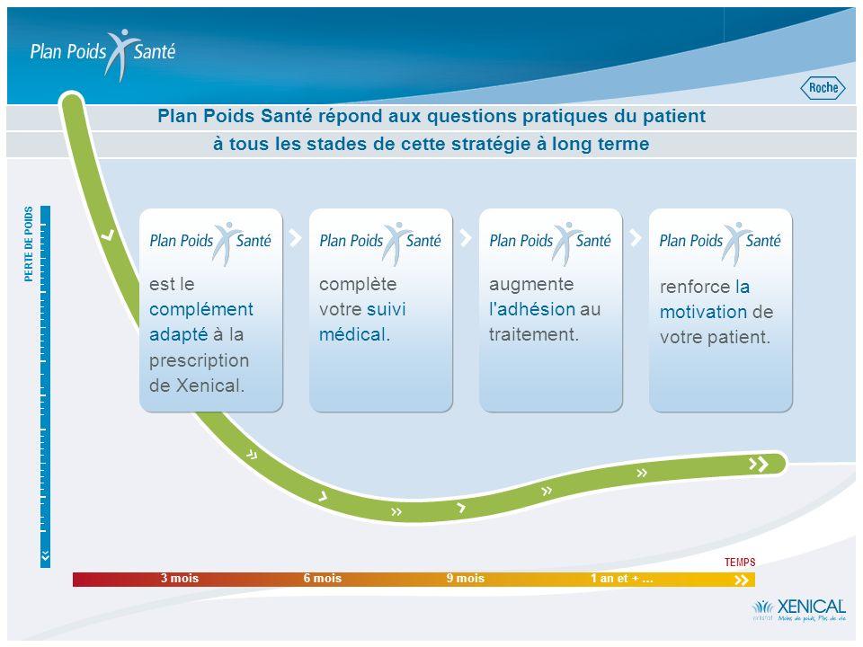 Plus de 400 trucs, astuces, conseils, recettes et exercices pour réussir son plan! Plan Poids Santé soutient la motivation de votre patient PRESCRIREM