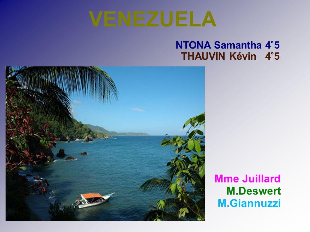 VENEZUELA NTONA Samantha 4°5 THAUVIN Kévin 4°5 Mme Juillard M.Deswert M.Giannuzzi