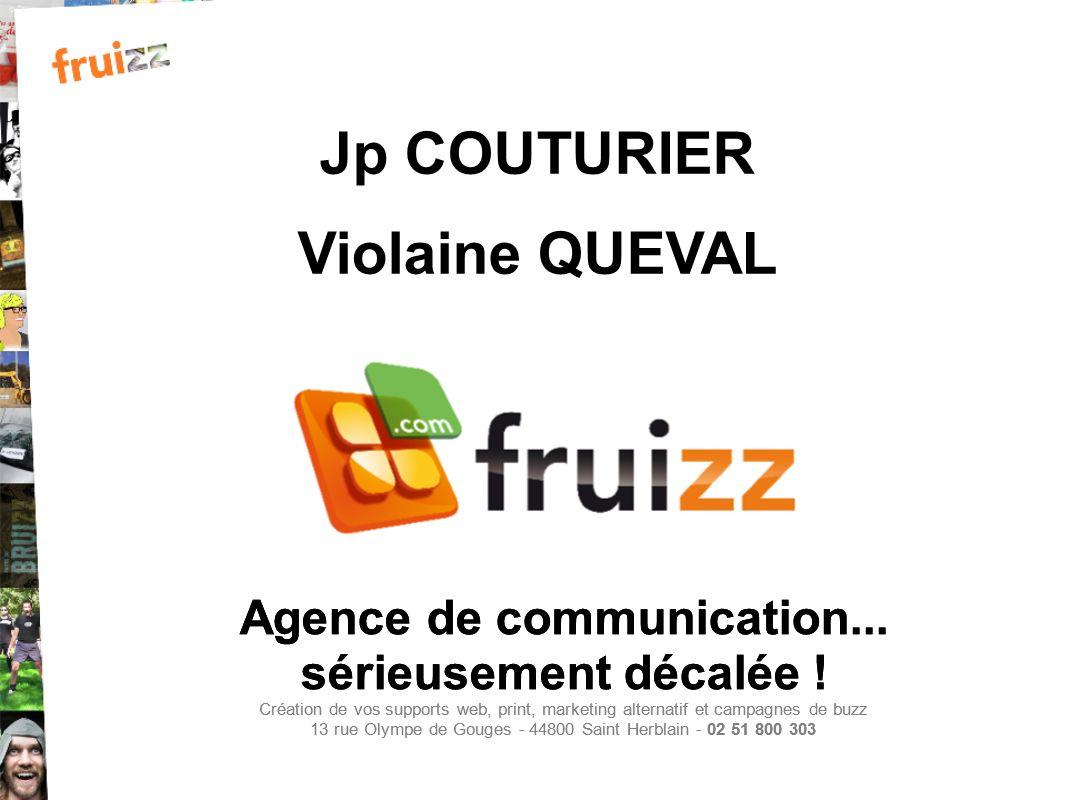 Agence de communication... sérieusement décalée ! Création de vos supports web, print, marketing alternatif et campagnes de buzz 13 rue Olympe de Goug