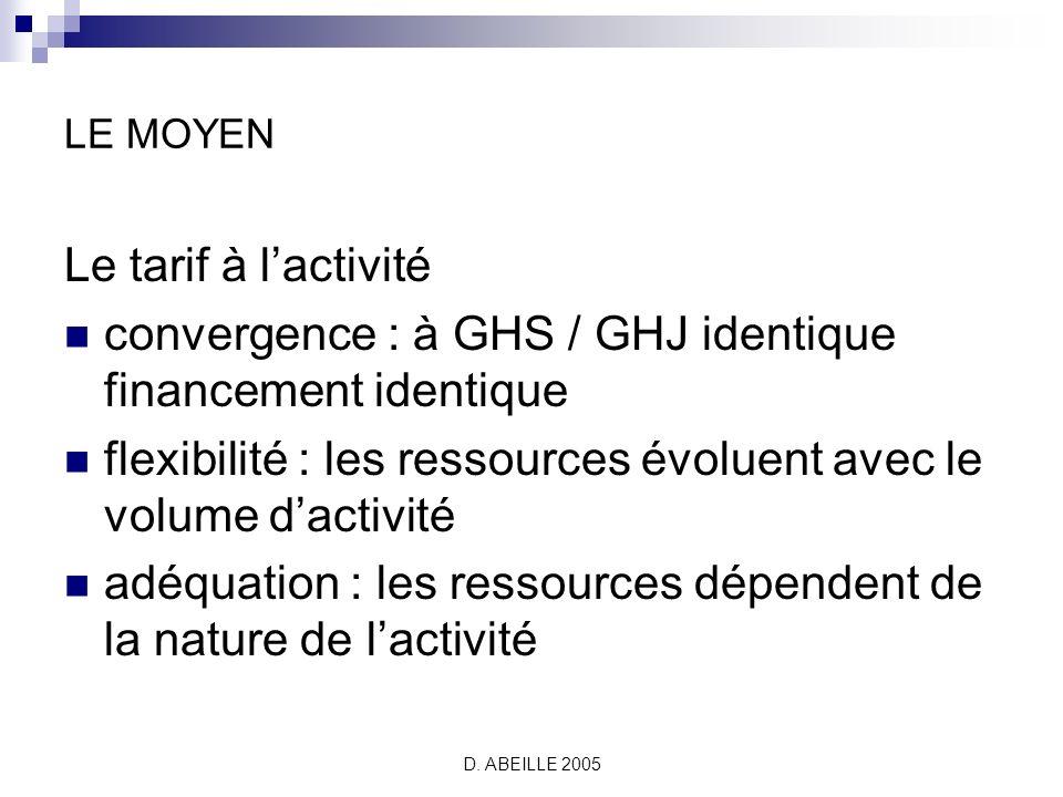 D.ABEILLE 2005 Quelles « stratégies dentreprise ».