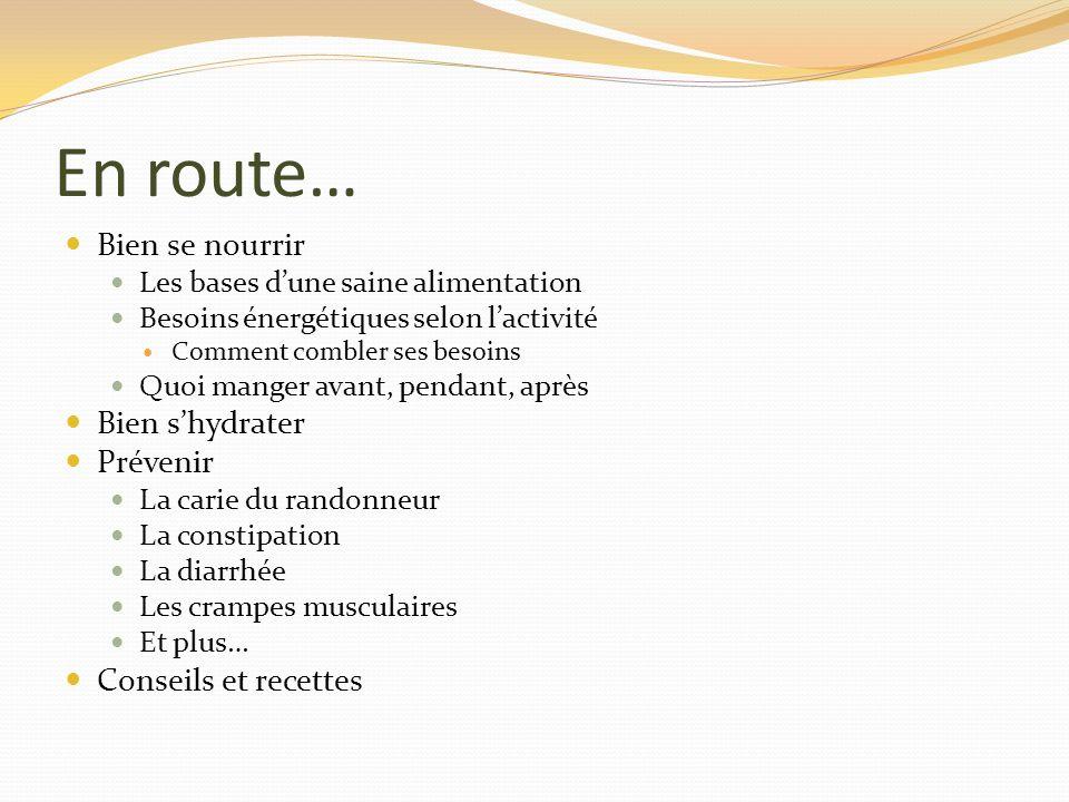 Les bases dune saine alimentation Le guide alimentaire canadien Pour combler vos besoins en macronutriments et micronutriments Glucides Protéines Lipides Vitamines (i.e.