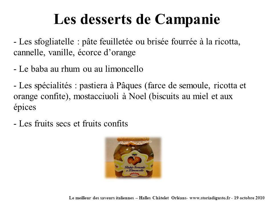 Le meilleur des saveurs italiennes – Halles Châtelet Orléans- www.storiadigusto.fr - 19 octobre 2010 - Les sfogliatelle : pâte feuilletée ou brisée fo