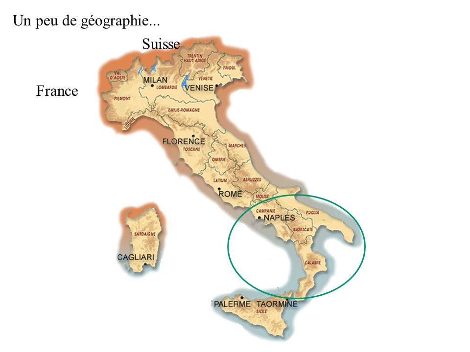 Un peu de géographie... France Suisse