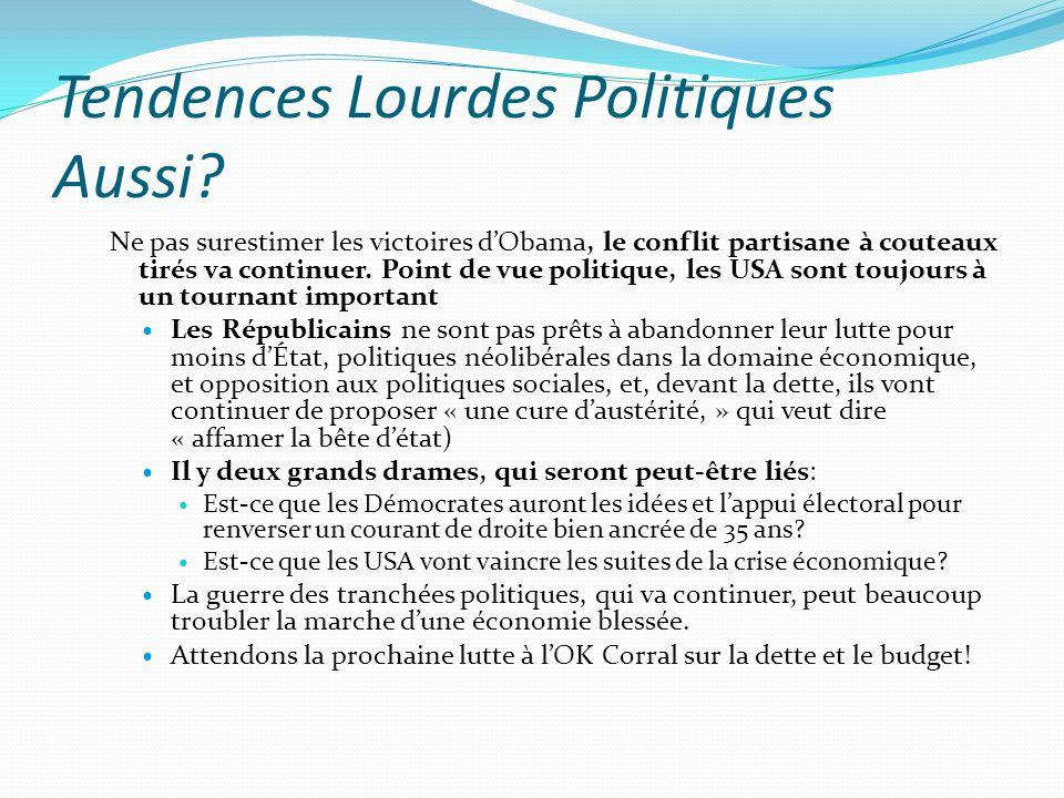 Tendences Lourdes Politiques Aussi.