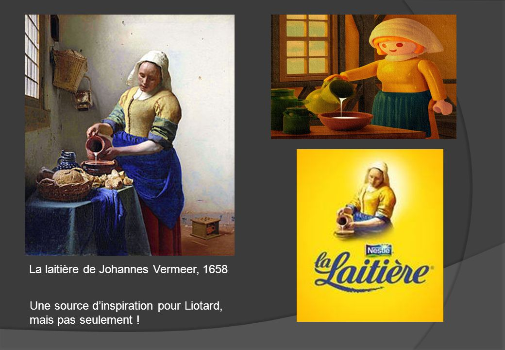 La laitière de Johannes Vermeer, 1658 Une source dinspiration pour Liotard, mais pas seulement !